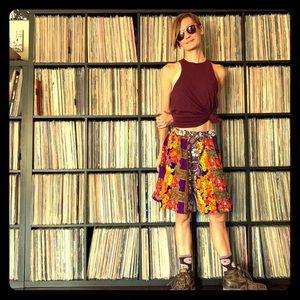 Handmade Patchwork Vintage Skirt Grunge 90s phish